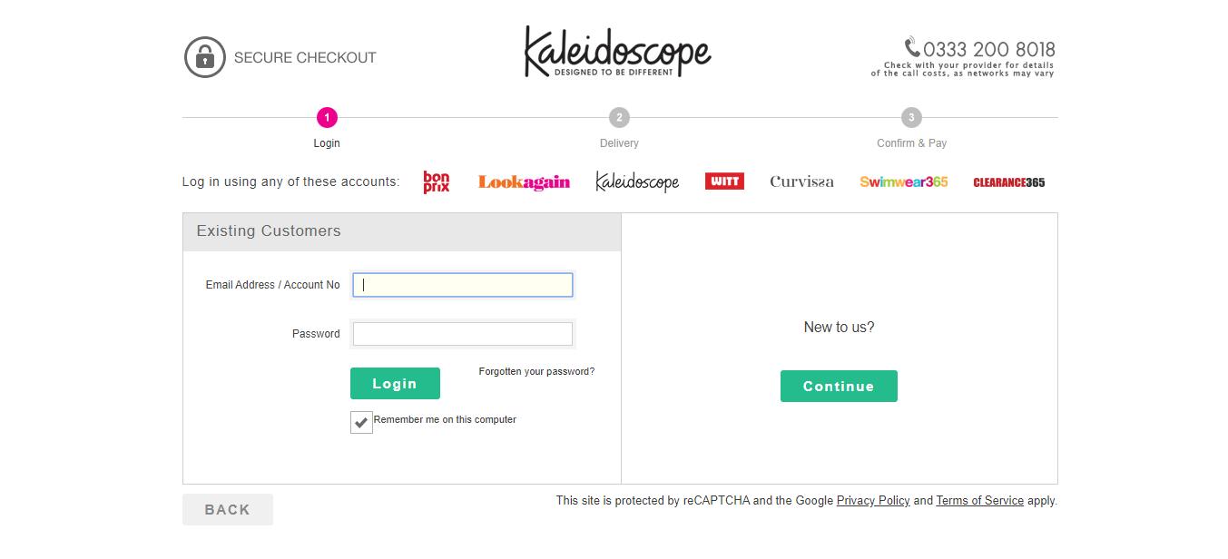 kaleidoscope discount codes