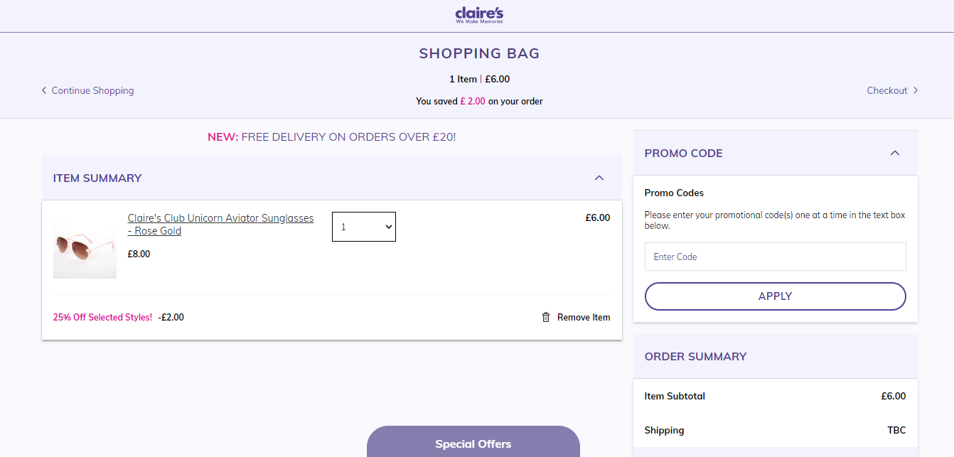 claire's accessories discount codes