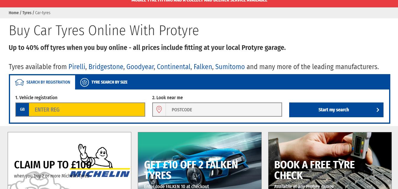 protyre discount codes
