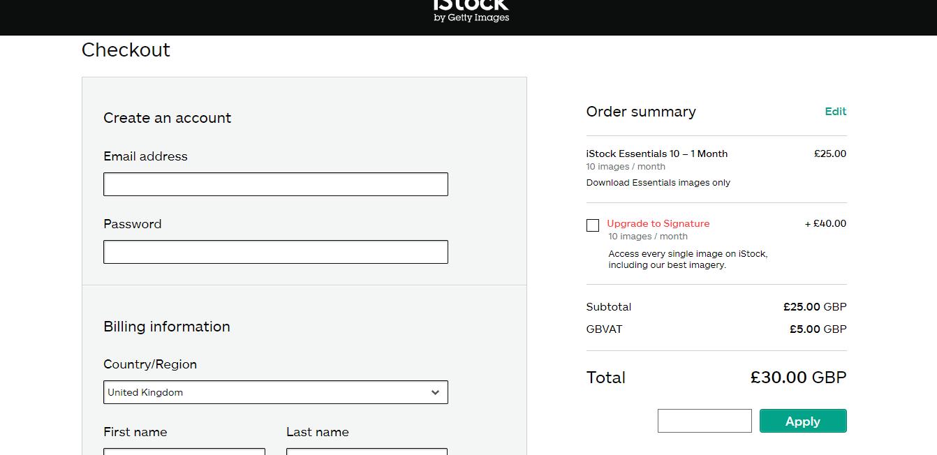 istock discount codes