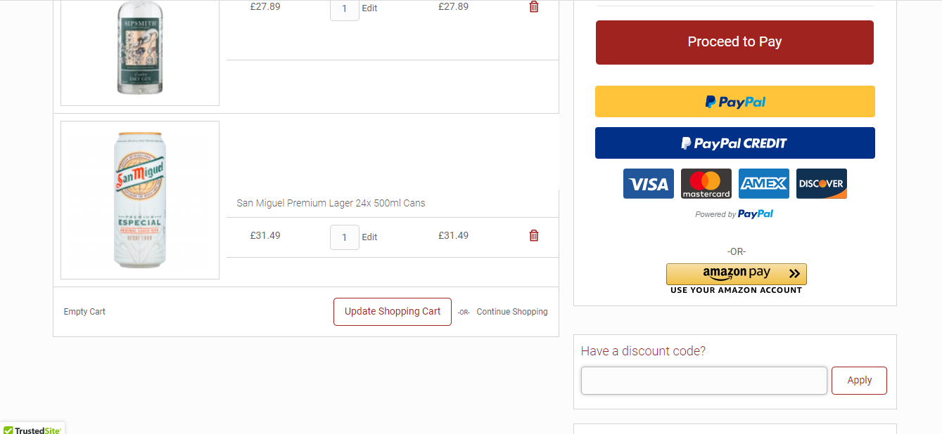drink supermarkets discount codes
