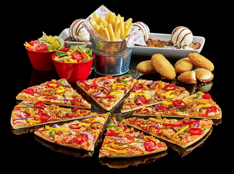 Pizza Hut Big Match Food