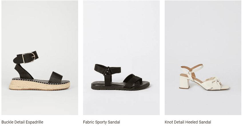 Warehouse Sandals