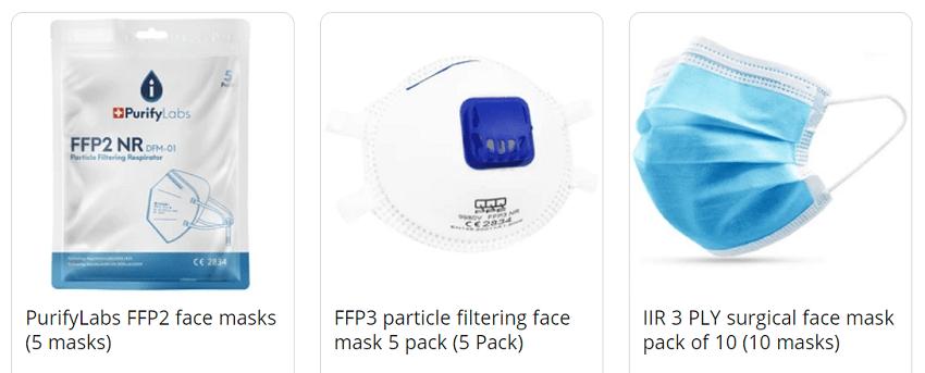Lloyds Pharmacy Facemasks