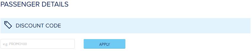 TUI Discount Code Box