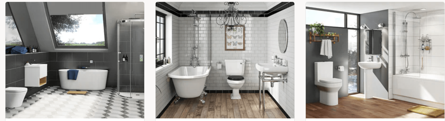 Victoria Plum Bathroom Styles