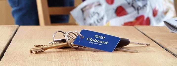 Tesco Clubcard Keyring
