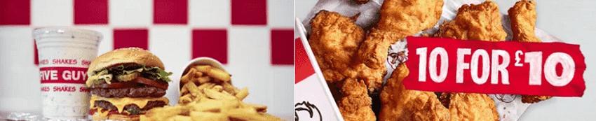 Deliveroo Fast Food