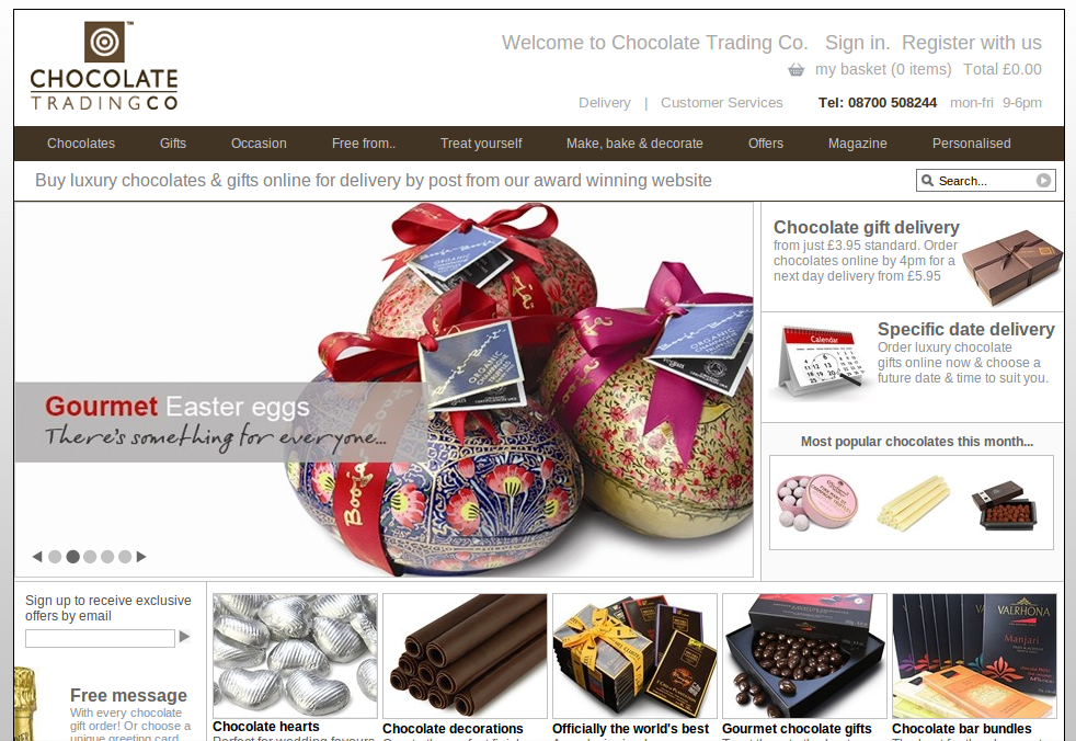 Chocolate Trading Co Discount Codes 15 Off At Myvouchercodes