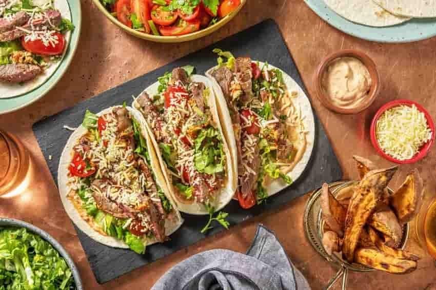 Hello Fresh Tacos