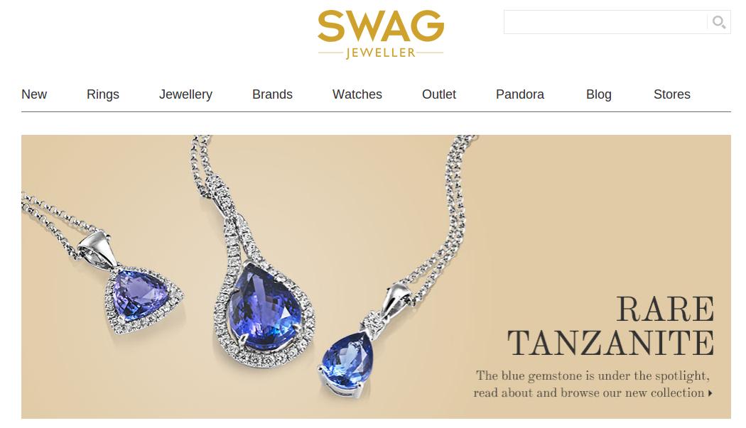 SWAG homepage