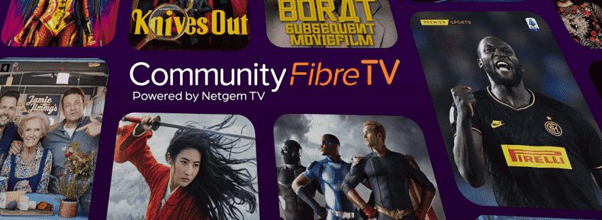 Community Fibre TV