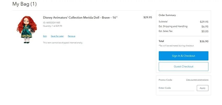 using your shoppDisney discount code