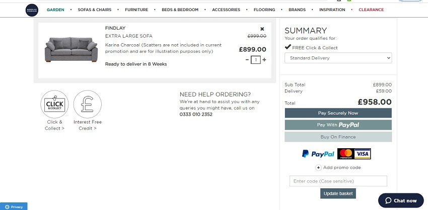using your Barker & Stonehouse discount code