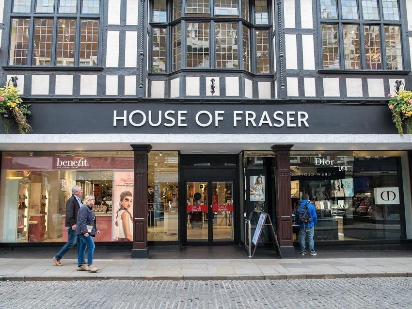 House of Fraser Sale