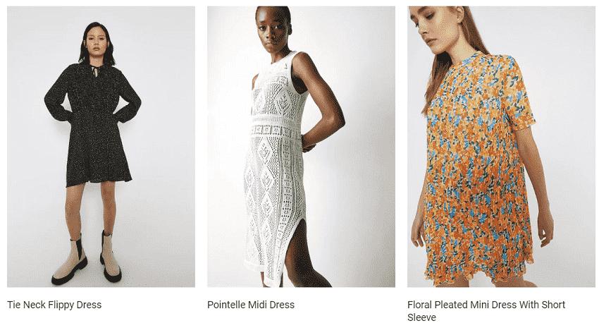 Warehouse Dresses