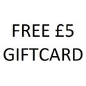 Claim A Free £5 Giftcard